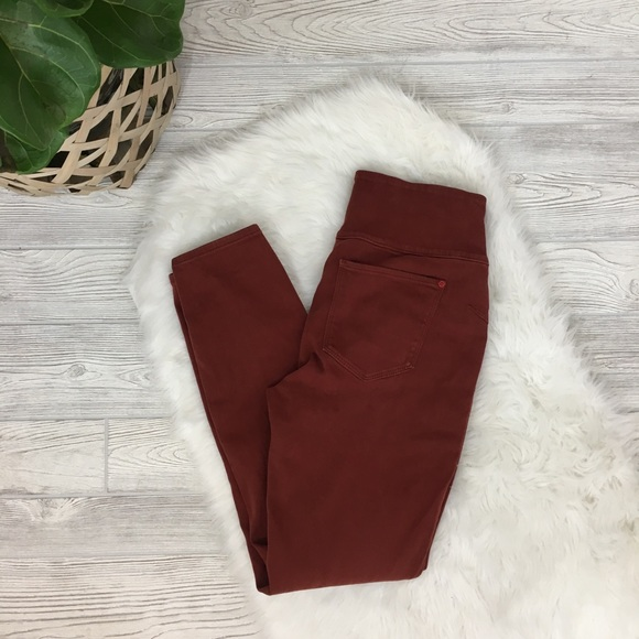 dbeb208cad119 SPANX Pants | Jeanish Leggings In Rust Color | Poshmark